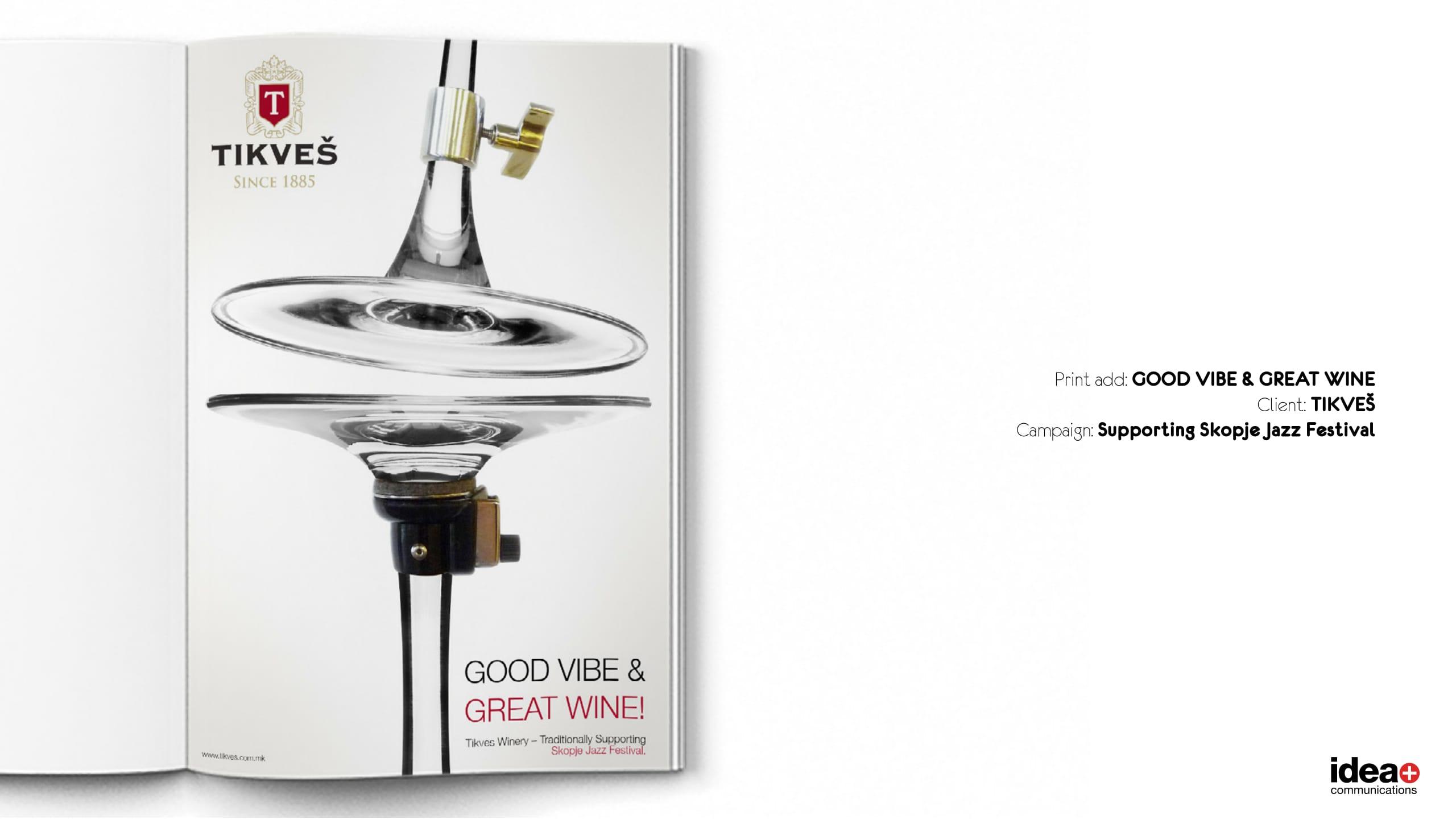 GOOD VIBE & GREAT WINE